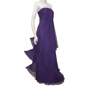 👸🏻 SALE Pamella Roland Three Tier Silk Gown 👸🏻